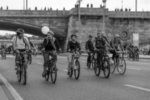 Фоторепортаж с Московского велопарада 2017