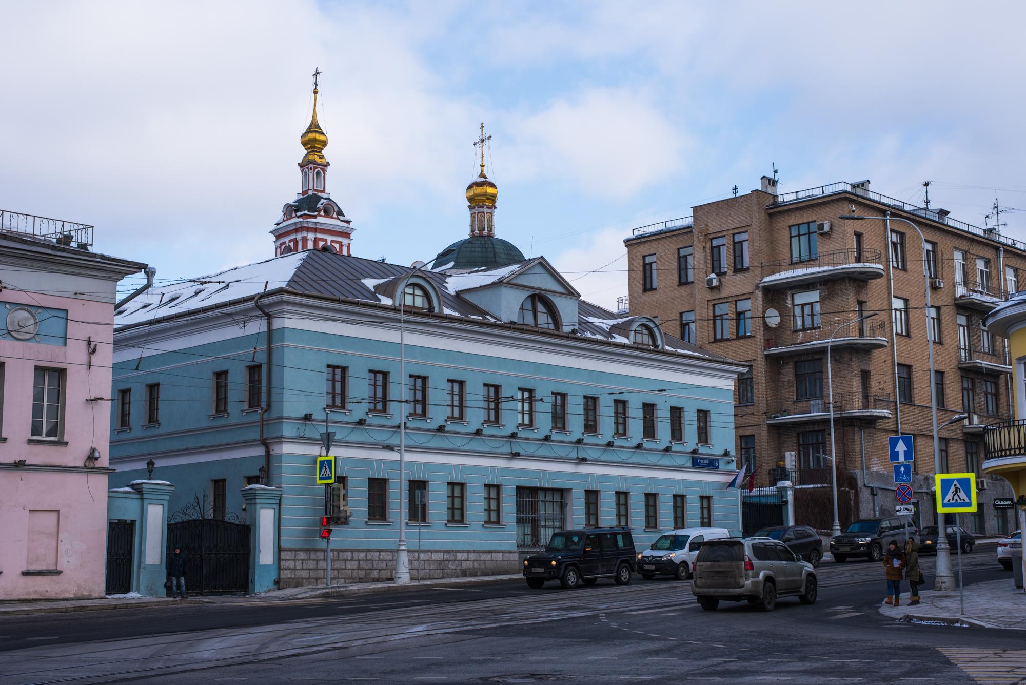 прогулка по зимней Москве