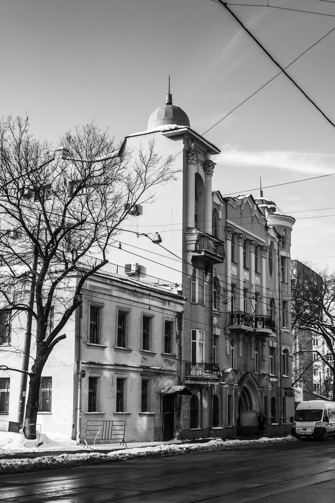 Старые дома в Москве