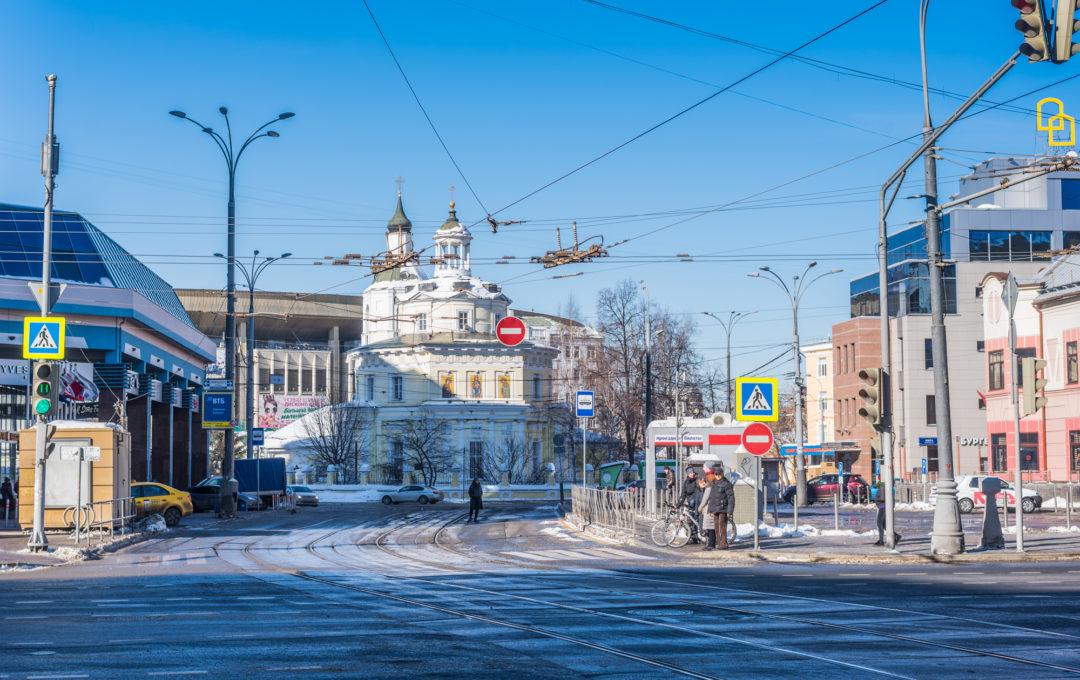 Walk around Moscow 2018