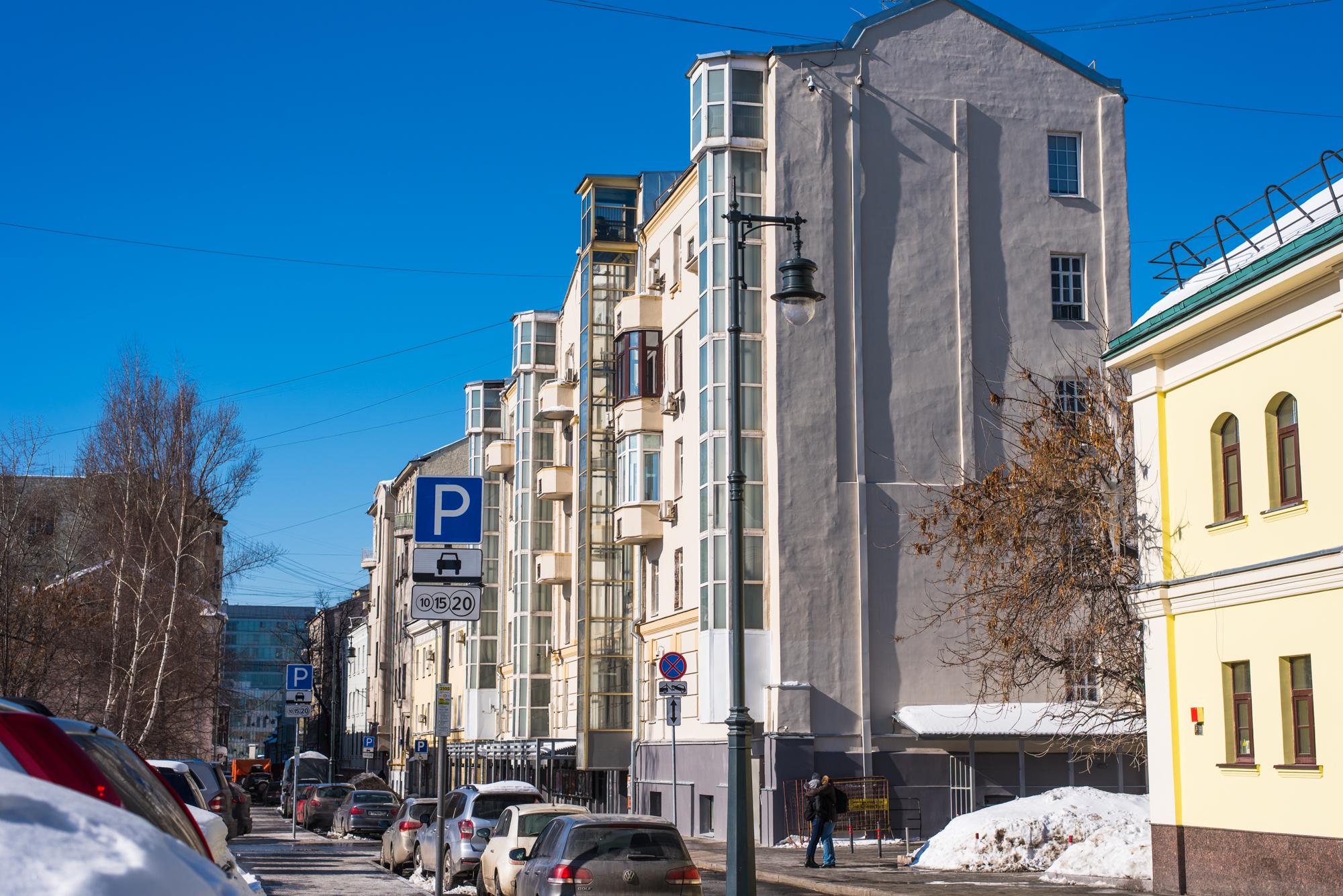 Вот таких домов в Москве много