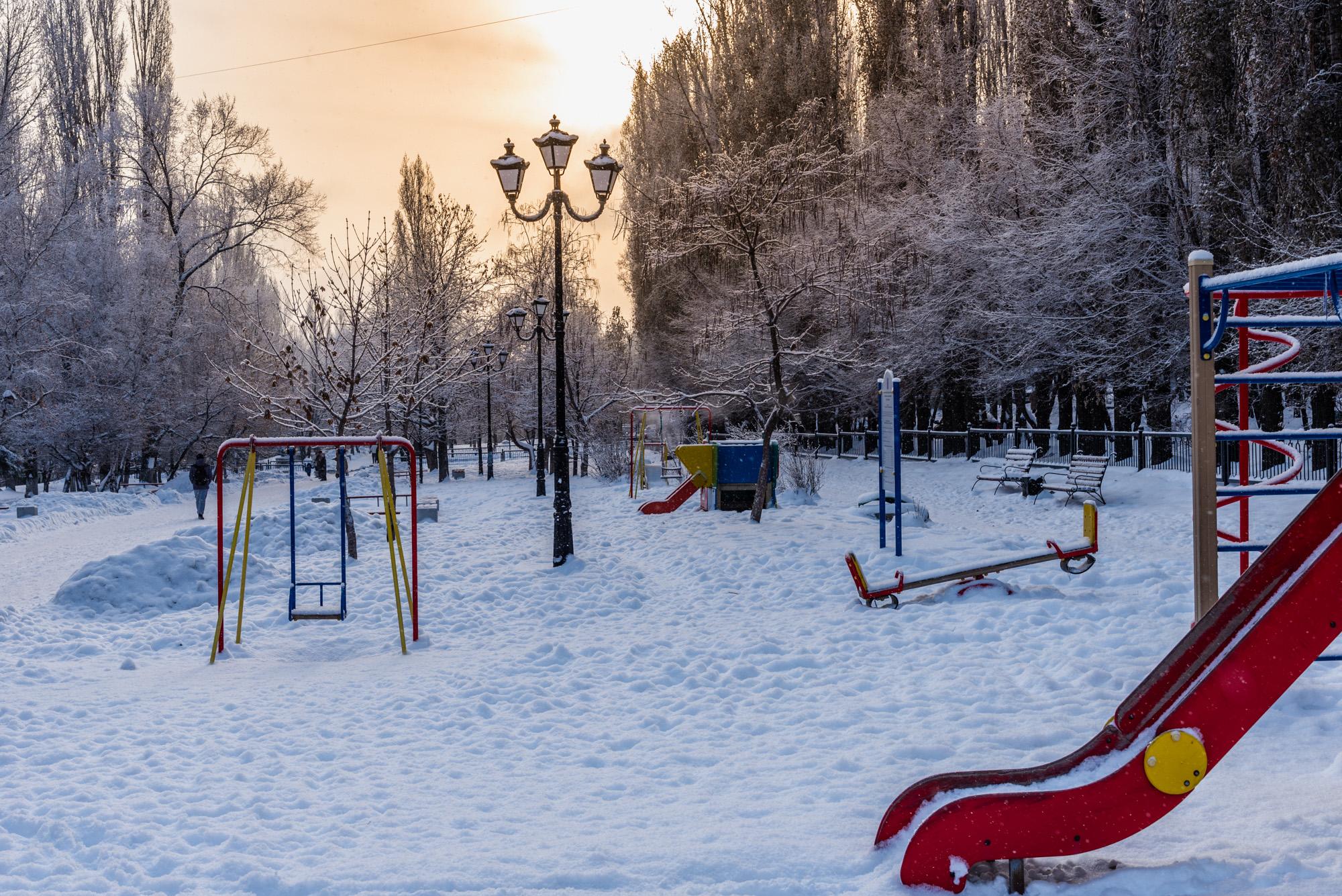 Саратов зимой