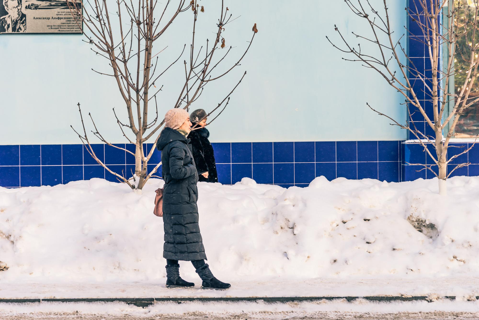 зимняя уличная фотография