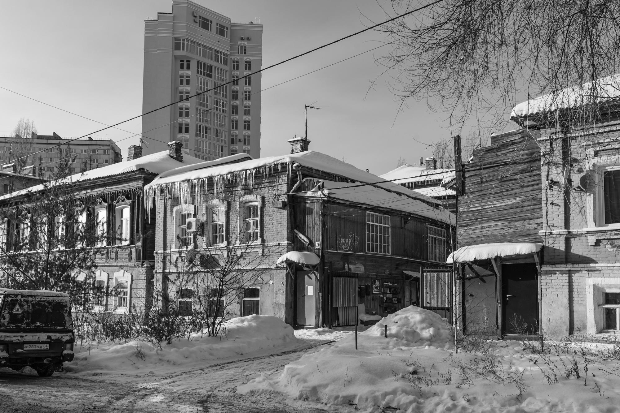 Старые саратовские дома