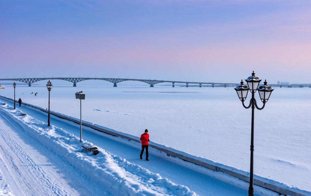 Зимний Саратов