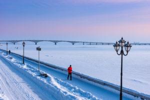 Зимний Саратов — фото 2019 года