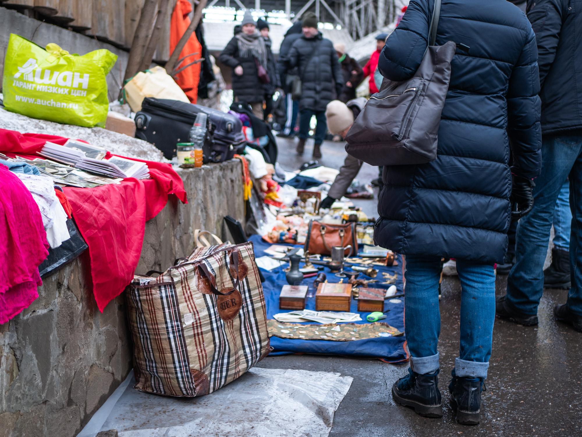 Блошиный рынок в Измайлово