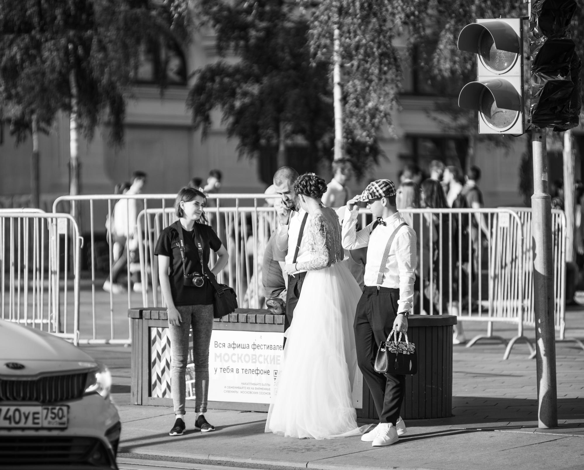 лето в Москве 2020 - свадьба