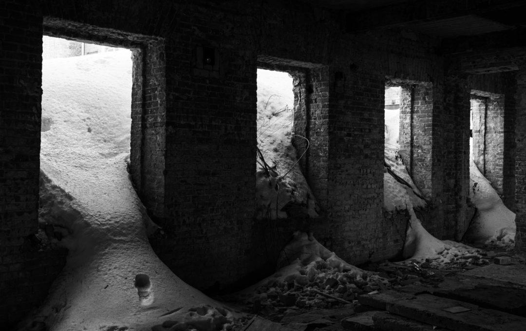 Как снимать развалины
