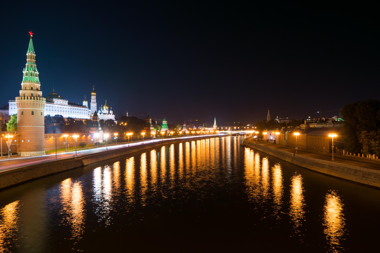 кремль фото ночью