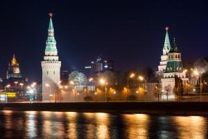Ночной Кремль